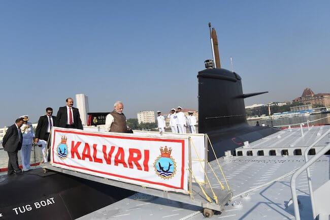 INS Kalvari_Commissioning