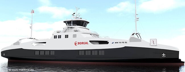 Boreal - VARD_ electric ferry