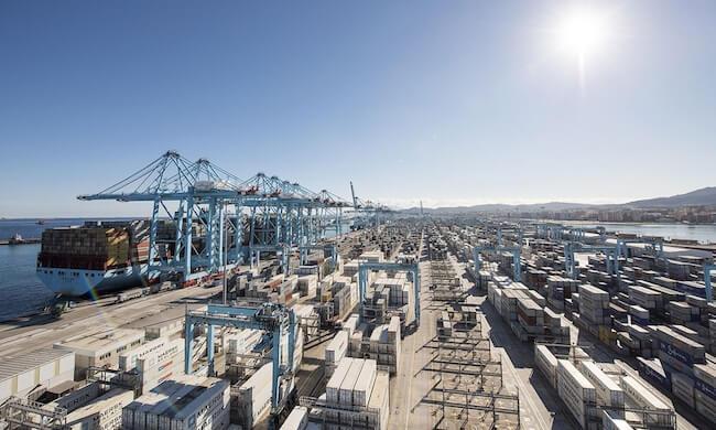 Maersk harbour