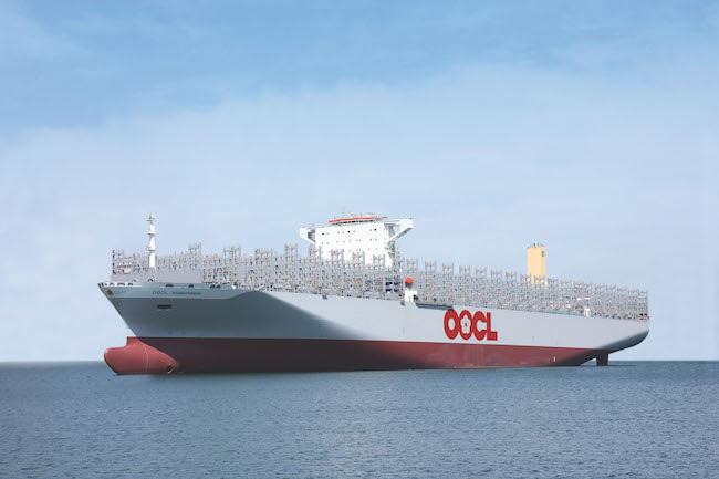 OOCL Indonesia -Sea Trial