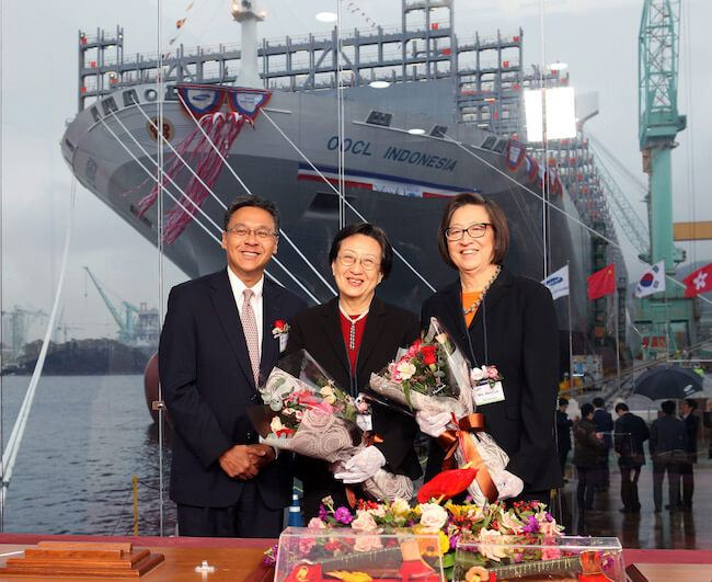 OOCL Indonesia naming-Sponsors and CEO