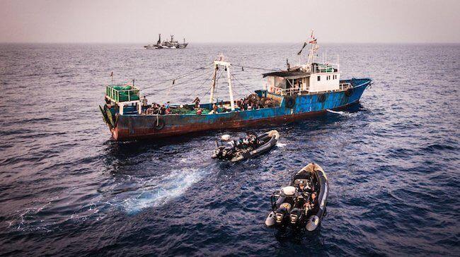 Seashepherd arrest liberia illegal shipping