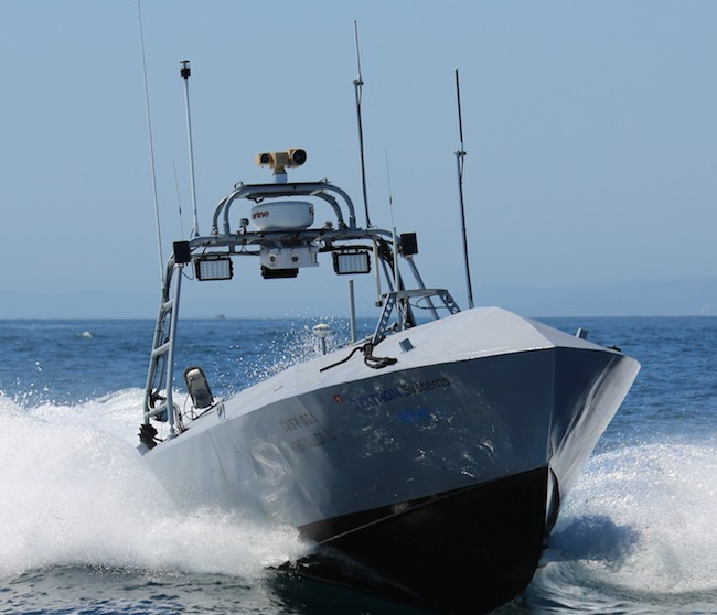 Unmanned vessel_US Navy_weaponize