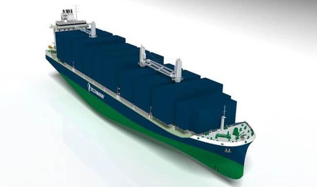 deltamarin cargo ship