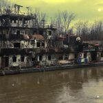 towing vessel burnt_Mississippi River
