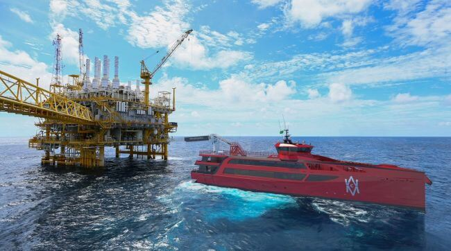 Damen CMM fast marine access