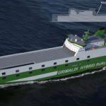 Grimaldi Green 5th Generation RoRo designed by KNUD E. HANSEN Denmark