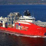 """M/V """"SKANDI SANTOS"""" - Yard no: 716 by: STX Norway Offshore AS - Aukra"""