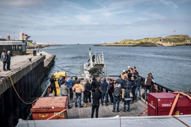 Damen marine access