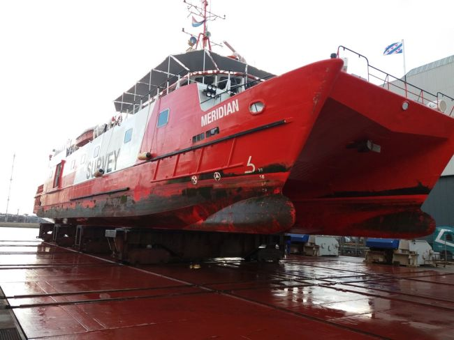 Fugro Mercator at Damen Shiprepair Harlingen (2)_lowres