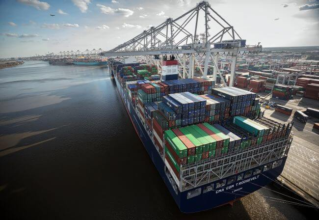 Port+of+Savannah+docks_georgia Ports Authority_CMA CGM