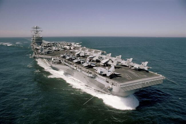 huntington ingalls industries HII_ USS john c stennis