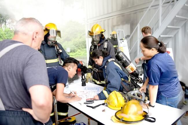 training being undertaken galileo maritime academy (1)