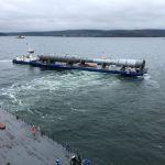 Gazprom Amur GPP Project - barge transport