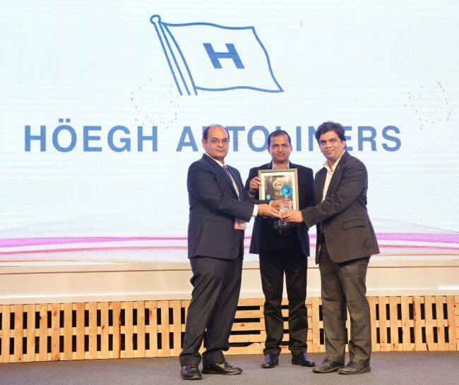 Hoegh Autoliners best RoRo India