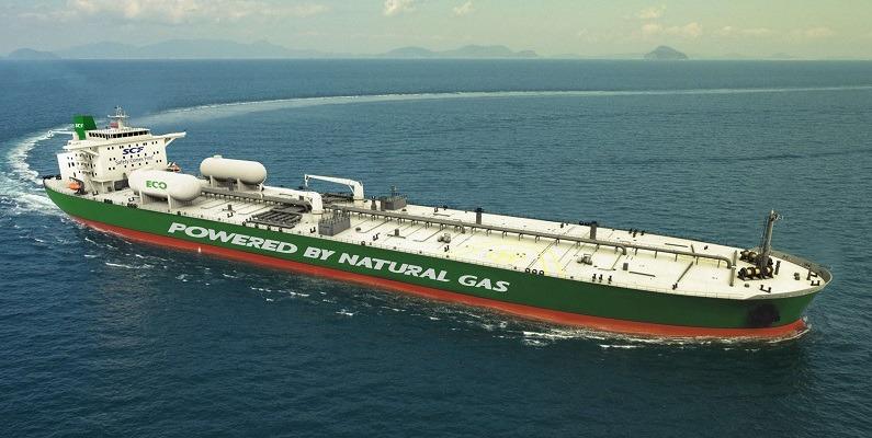 SCF LNG-fuelled Aframax