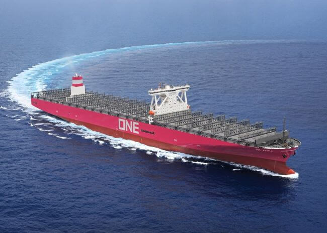one aquila_14000 teu containership