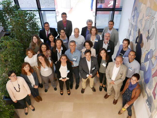 LOOP-Ports project partners during the meeting held at the Fundación Valenciaport headquarters.