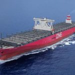 "Delivery of 14,000-TEU containership ""ONE COLUMBA"""
