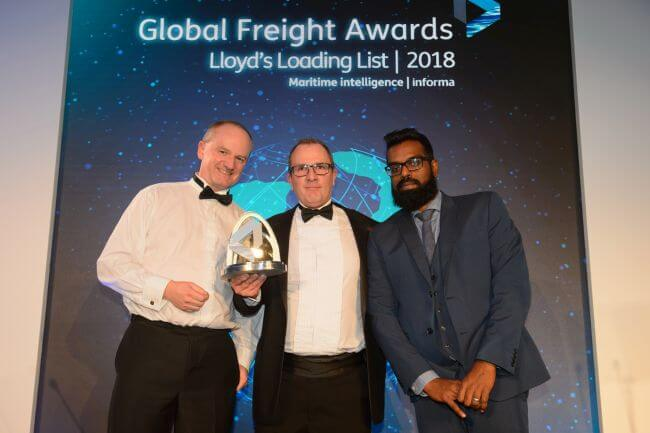 Hamburg Süd receives prestigious Global Freight Award