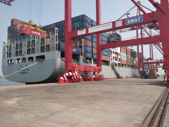 India first Mainline Vessel_2