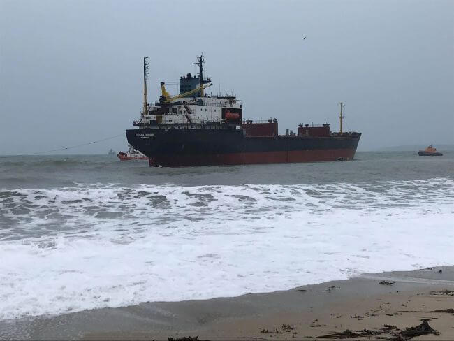 detained russian ship