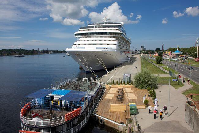 Port of Riga Sets Goal: Number of Cruise Ships and Their Passengers Must Be Doubled