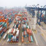 COSCO HIT shipping port