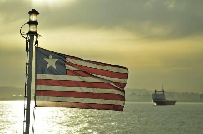 Liberian Flag & Vessel