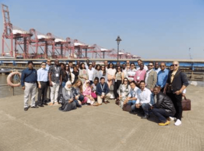 Global delegation from 36 countries visit JNPT