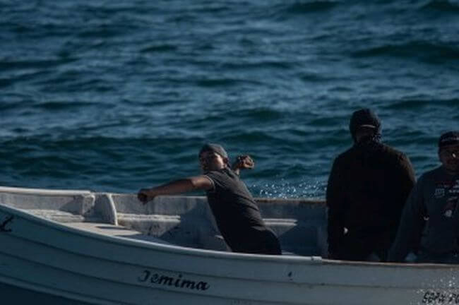 Sea Shepherd Ship's Windows Smashed and Hull Set on Fire by Poachers
