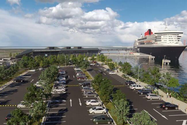 port brisbane international cruise terminal
