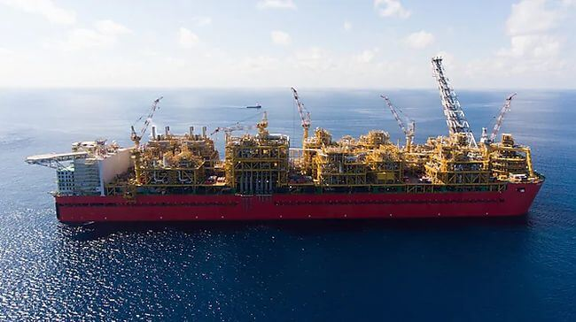 Shell Prelude First LNG-Cargo