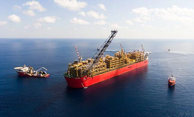 Shell Prelude First LNG Cargo