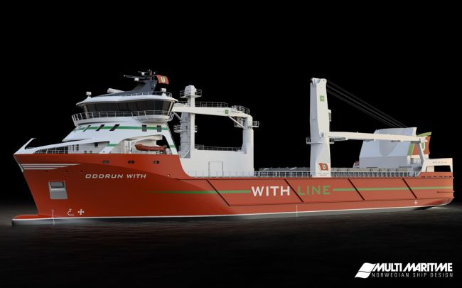 Kongsberg Secures Lng And Battery Propulsion Contract For New Egil Ulvan Rederi As Multi-purpose Cargo Vessel