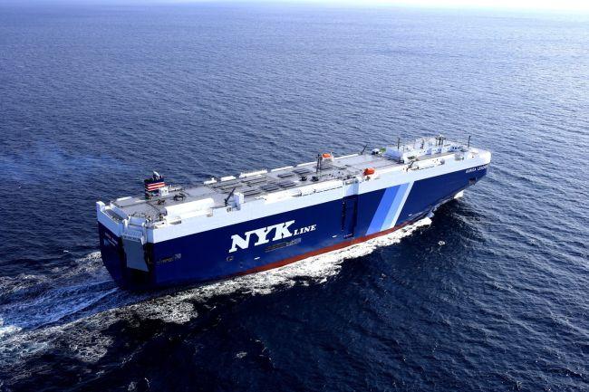 nyk roro ship