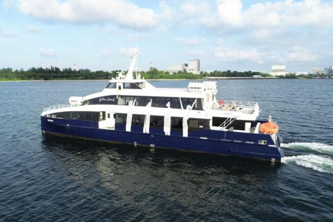 Incat Crowther-Designed Flex Ferry 33X Sets a New Benchmark