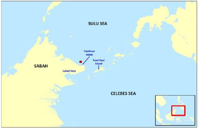 ReCAAP ISC Incident Alert on Abduction of Crew from Fishing Boat in Vicinity Waters of Tambisan Island, Lahad Datu, Sabah, Malaysia