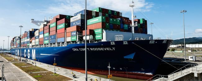 CMA CGM Roosevelt_Panama Canal