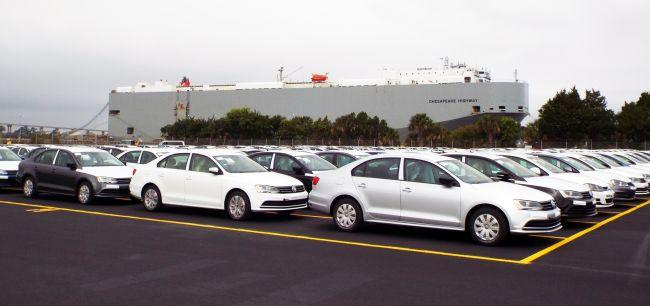 JAXport PCTC vehicles
