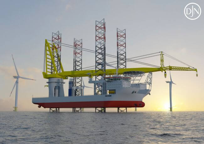 Jan De Nul Secures World's Largest Jack-Up Installation Vessel For Dogger Bank Wind Farms