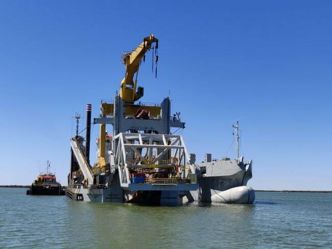 Jan De Nul Successfully Completes Port Hedland Dredging