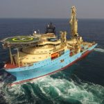 Maersk Supply Service Brings Second I-Class Vessel To Mexico-Maersk-Installer-on-sea