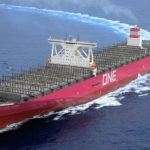 "Delivery of 14,000-TEU Containership ""ONE CYGNUS"""