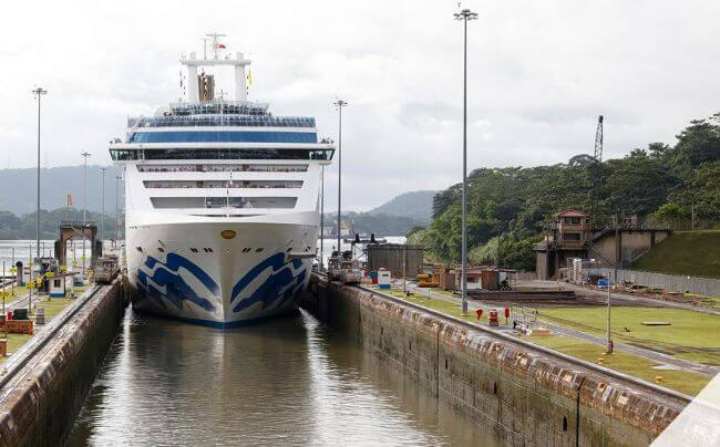Princess Cruises_Panama-Canal