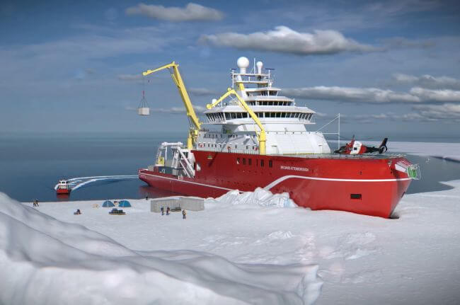 ROYAL RESEARCH SHIP SIR DAVID ATTENBOROUGH