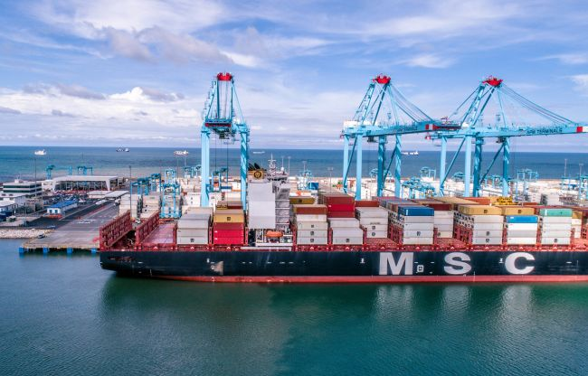 APM Terminals receives Costa Rica's largest ever container ship