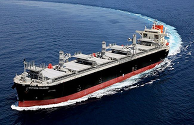 MOL Receives Delivery Of Wood Chip Carrier SOUTHERN TREASURE