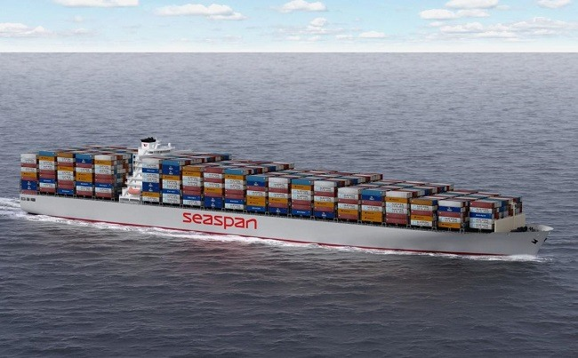 Seaspan SAVER Hull