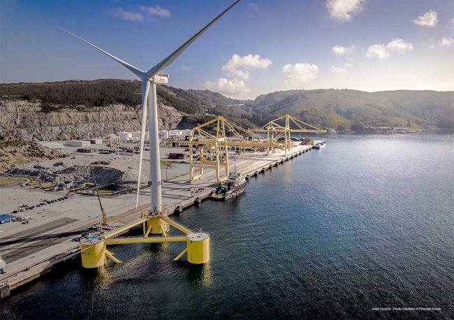 world's biggest floating-turbine